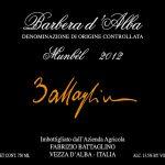 Barbera d'Alba DOC 2012 Munbèl