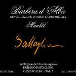 Barbera d'Alba DOC 2015 Munbèl